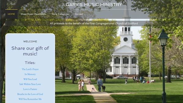 Gary's Music Ministry screenshot