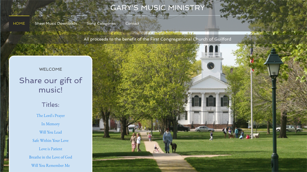 Gary's Music Ministry screenshot