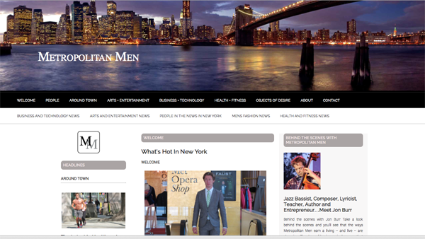 Metropolitan Men Screenshot