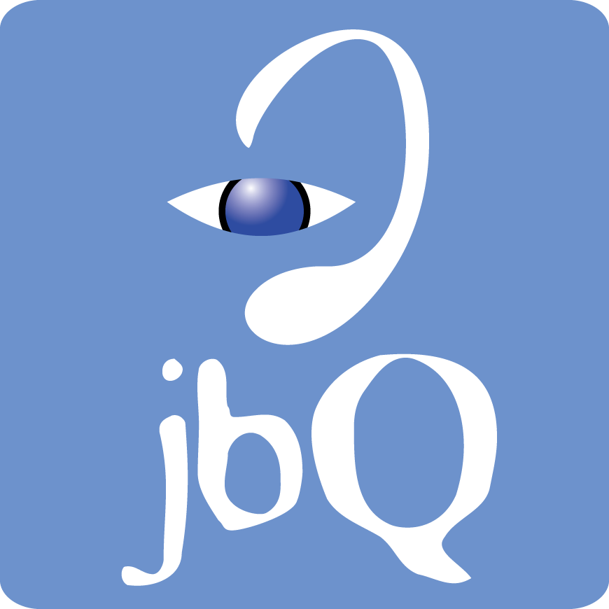 Square Blue jbQ Logo