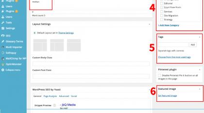 #Wordpress #SEO #Checklist
