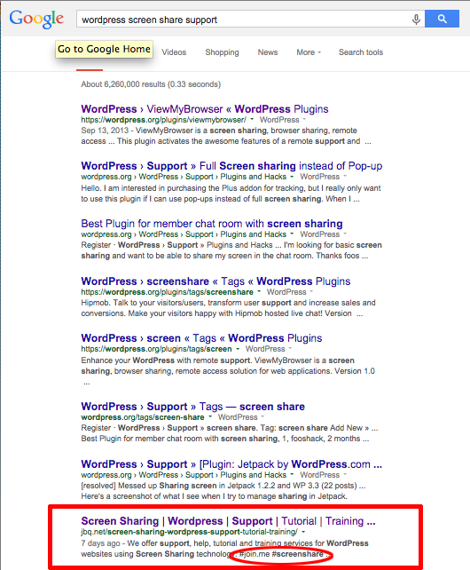 Google Putting Hashtags in SERP