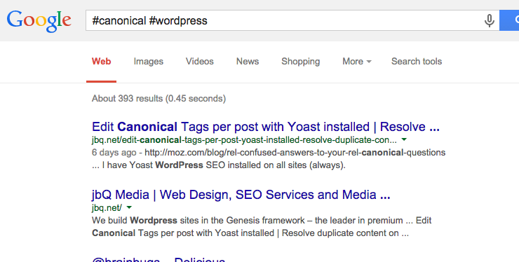 #hashtag_in_SERP #Google #Snippet
