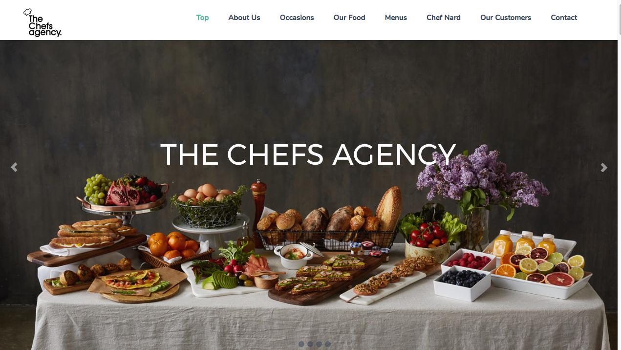 The Chefs Agency.com