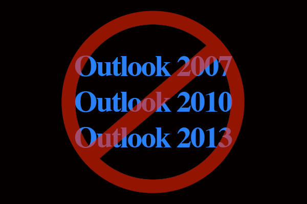 Bad Outlook Email Clients