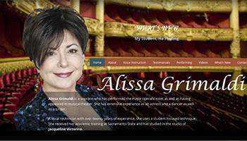 Alissa Grimaldi Website