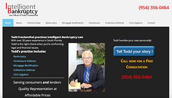 Todd Frankenthal Law Website