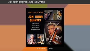 Jon Burr Quintet Website