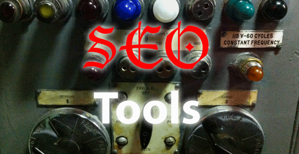 SEO Tools kitschy graphic