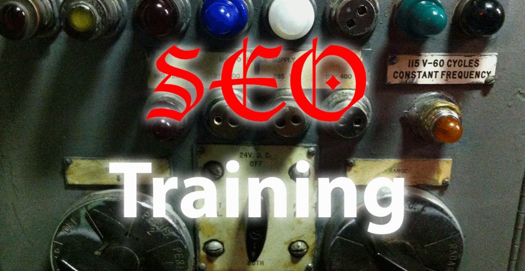 SEO Training graphic