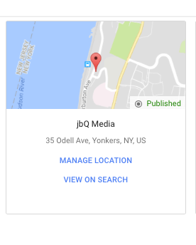 Navigating google my business google brand accounts and google a card in card view reheart Choice Image